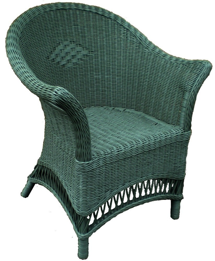 Sage Wicker Chair